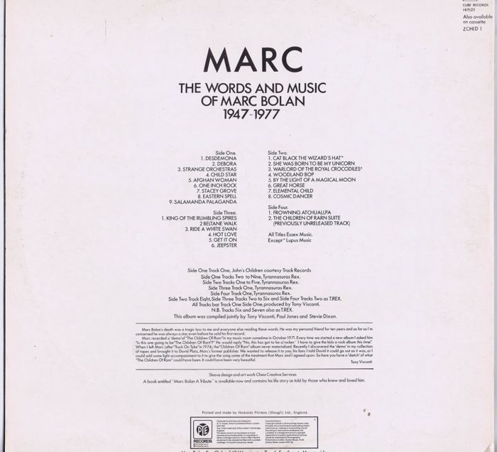 MARC BOLAN / T REX - lot of 8 LPs: 1 single LP, 2 x double LPs and
