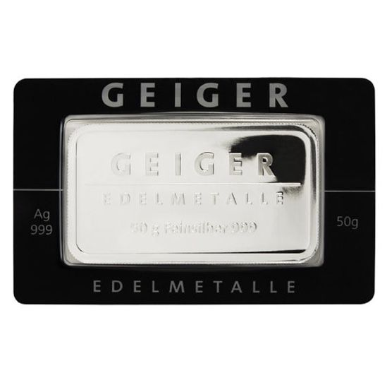 Geiger - 50 g - 999 - Minted - Blister