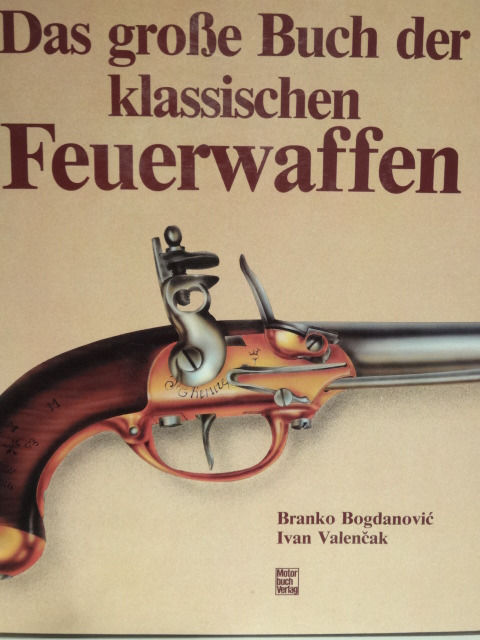 Large book of classic firearms