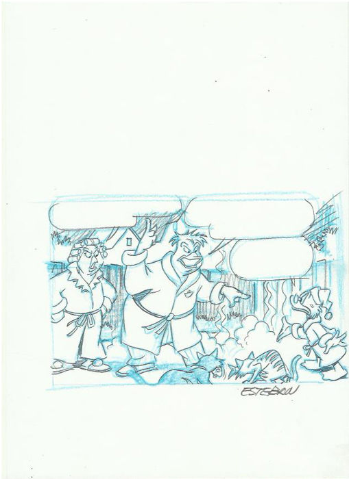 Ignasi Calvet Esteban - Original Drawing disney - Scrooge McDuck - Other
