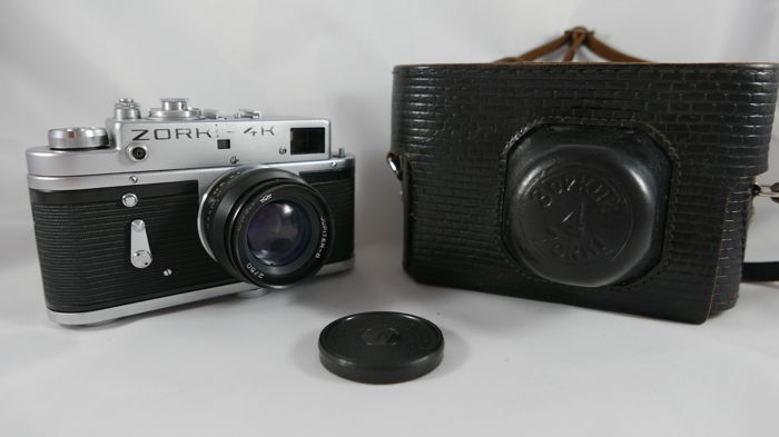 ZORKI 4K with black JUPITER 8  2/50, with case