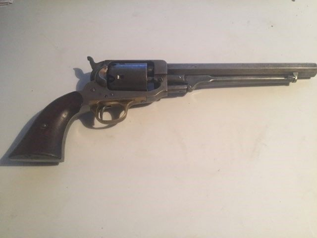 Whitney Navy revolver Second Model, 4th Type