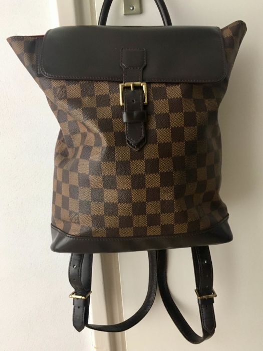 a2774064417e Louis Vuitton Soho backpack damier ebene - Catawiki