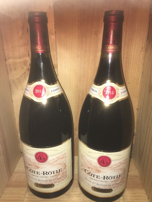 2015 Côte-Rotie 'Brune et Blonde' E. Guigal - 2 magnums 1.5 ltr