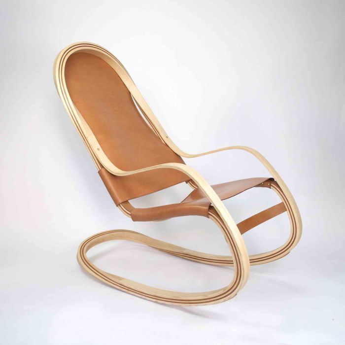 Andres Mariño Maza   Modern Rocking Chair