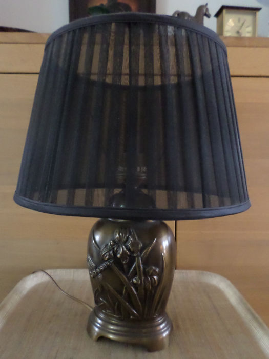 Table lamp - Jugendstil - Brass - 1950's
