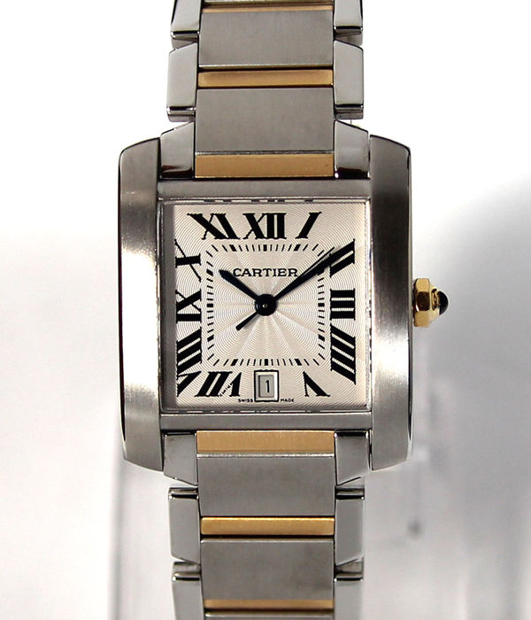 Cartier - Tank Francaise - 2302 - Homem - Does Not Apply