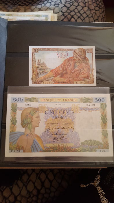 World - Collection of 48 international banknotes