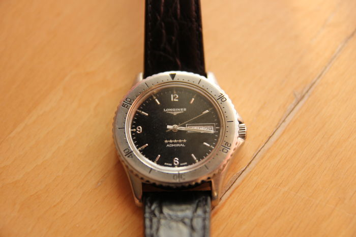 "Longines - Admiral Diver - ""NO RESERVE PRICE"" - L636-5 - Heren - 1990-1999"