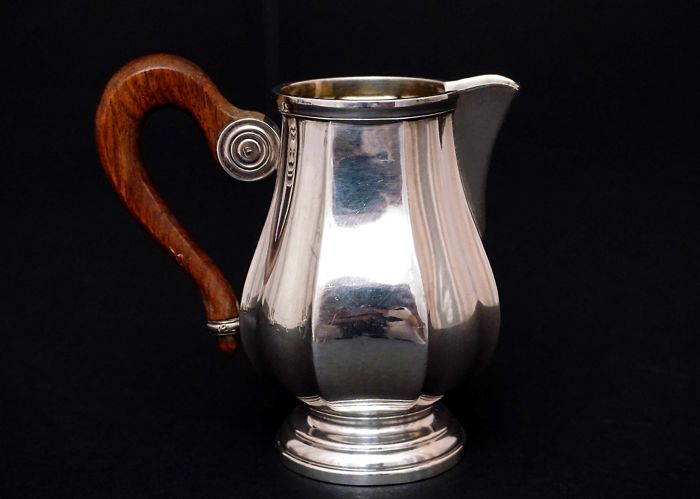 Sterling Silver Milk Jug   -Louis Coignet    -France  1889-1893