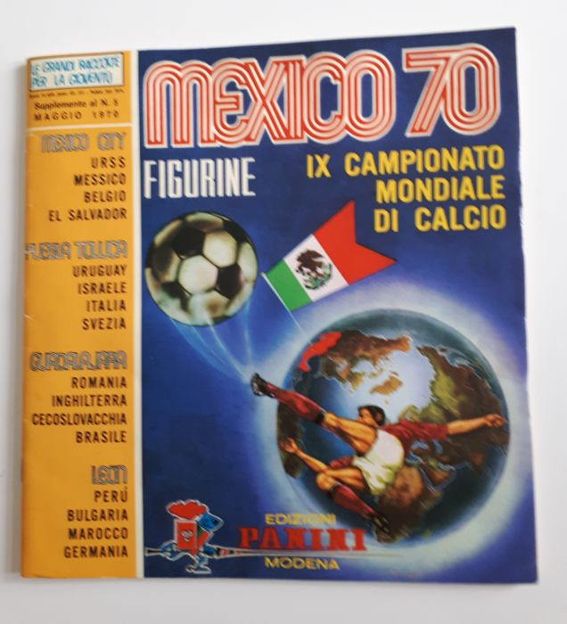 Panini - World Cup 1970 Mexico  - Original empty album