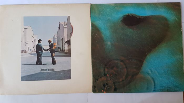 Pink Floyd :4 Original LP Albums Meddle & Wish You Were Here