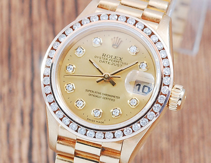 Rolex - Oyster Perpetual DateJust  - 69178 - Women - 1980-1989
