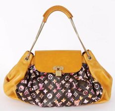 05c6a42d0a Louis Vuitton - Jamais Monogram Watercolor Richard Prince Τσάντα αγορών