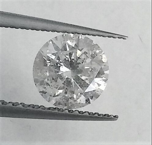 1.01 carat ,  Natural Diamond Brilliant  , D color , SI2 clarity , Big AIG certificate + Laser Inscription on Girdle , 3 x EX.