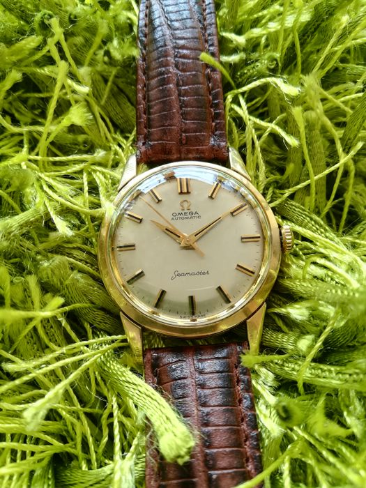 Beautiful Omega Seamaster 14k solid gold