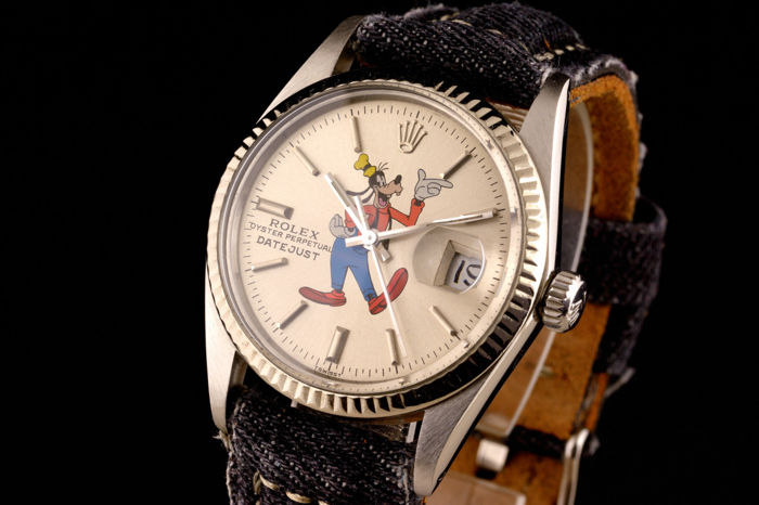 Rolex - Oyster Perpetual Datejust With Goofy - 16000 - Unisex - 1980-1989