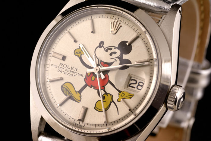 Rolex - Oyster Perpetual Datejust Mickey Mouse - 1603 - Unisex - 1970-1979