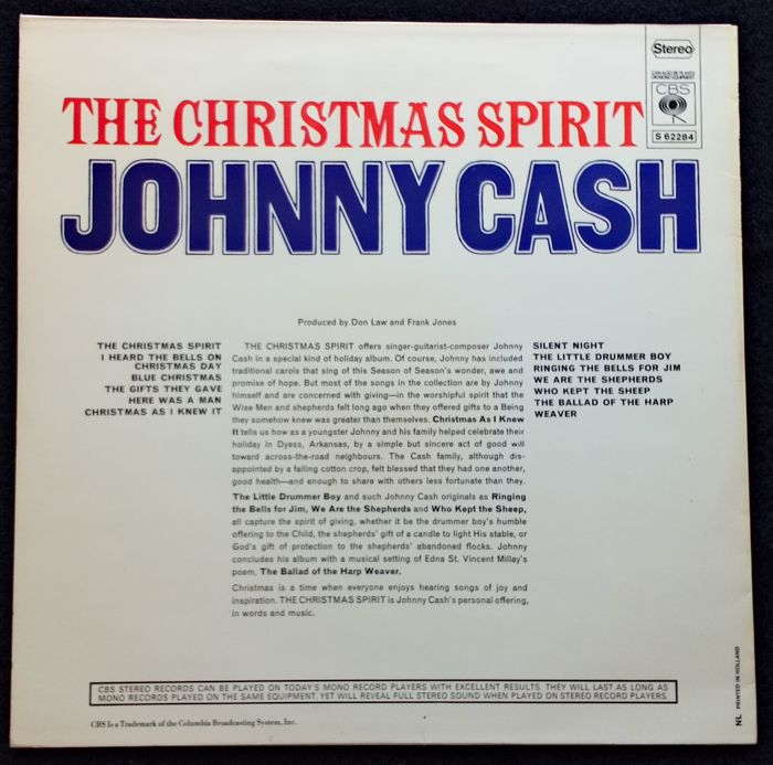 Johnny Cash, Waylon Jennings & The Statler Brothers - Lot of 12 ...