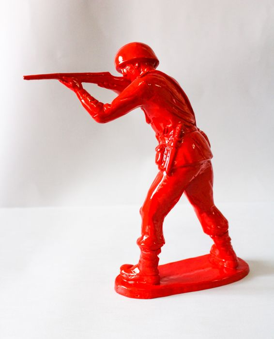 Alessandro Padovan - Peacekeepers Pop Color (Red)