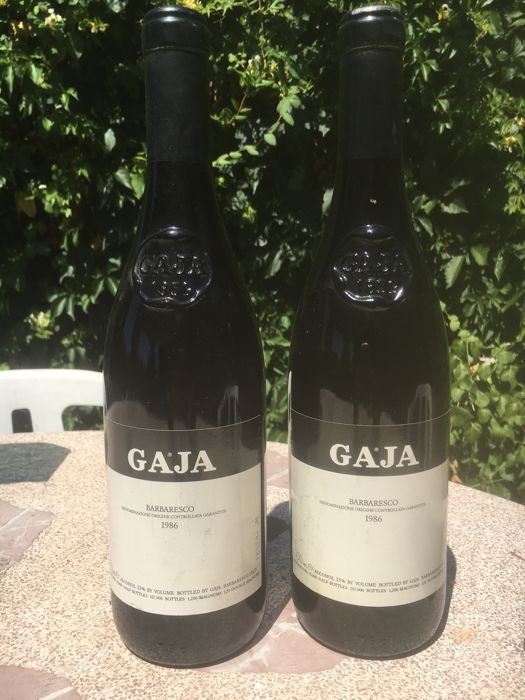 1986 Gaja Barbaresco-2  Bottle(75cl)