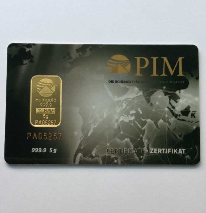 PIM-Nadir - 5 g - 999,9 - Minted - Blister - New Design