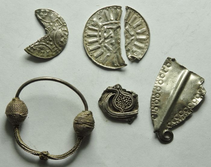 Viking Hack Silver Group - 1.4cm to 3cm - (6)
