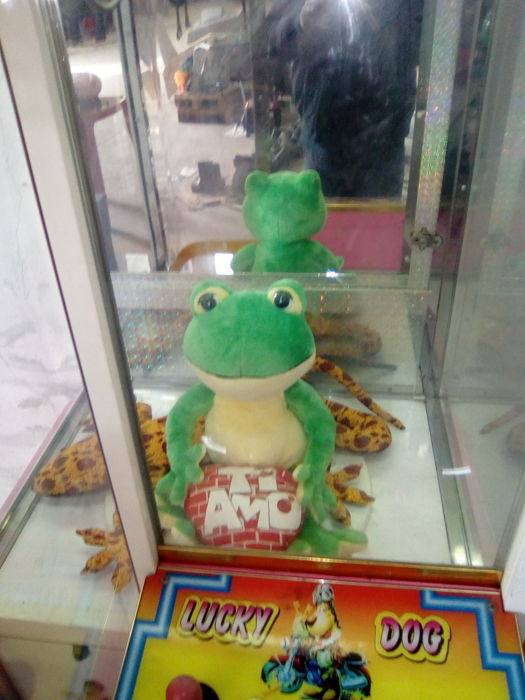 Claw game machine
