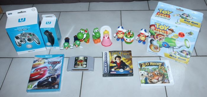 Lot of Nintendo games WiiU , N64, Gameboy 3DS and more