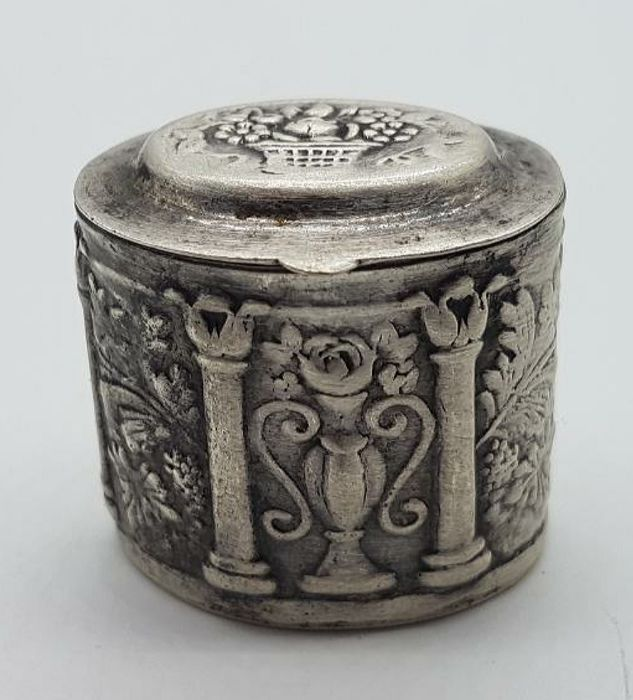 box of silver, 20th century