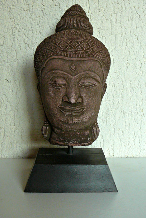 Very beautiful sculpture in stone - Thailand - end of 20th century
