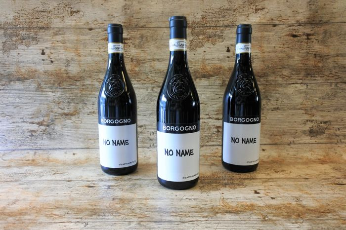 "2013, Borgogno ""No Name"" DOC - 3 bottles(75cl)"