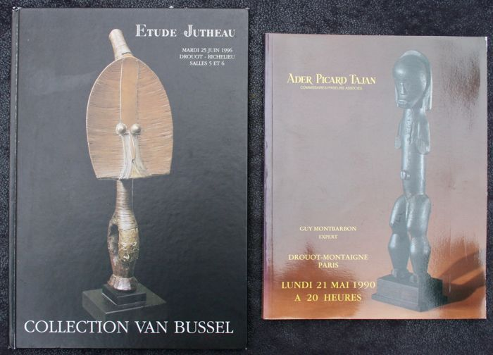 2 Sales Catalogues, including the Van Bussel Collection - OE - French