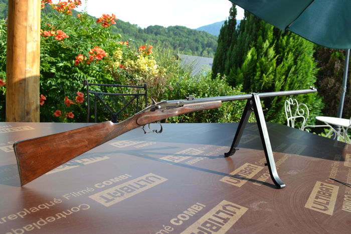 beautiful rifle in Warnant type