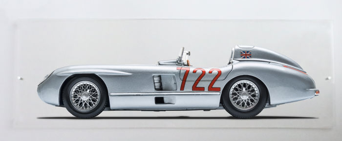 Afbeelding - Mercedes 300 SLR - 2017-2018 (3 items)