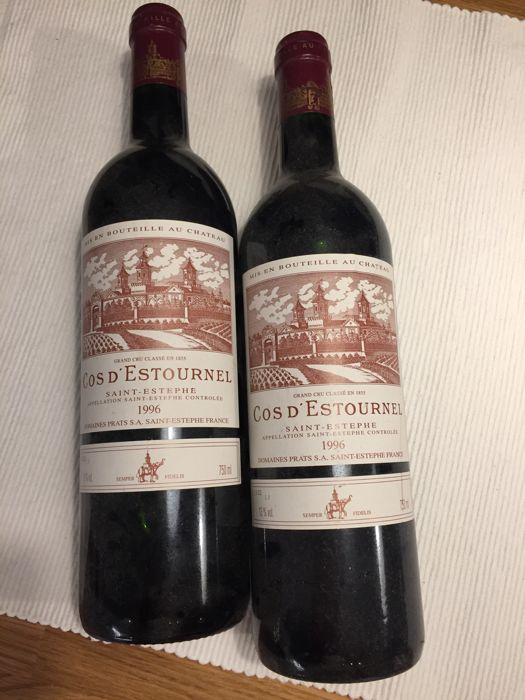 1996 Chateau Cos d´Estournel, Saint-Estephe Grand Cru Classe - 2 bottles