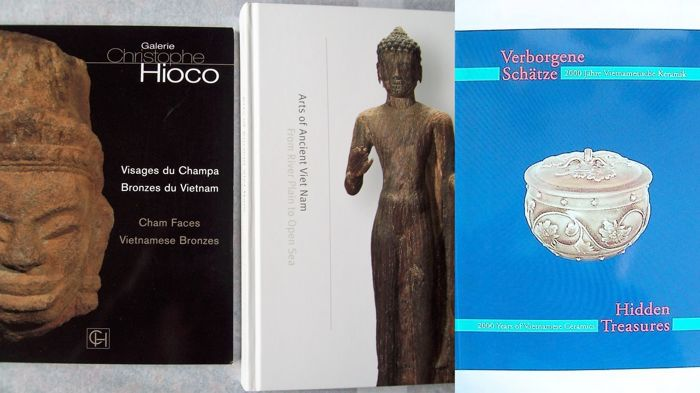 Buch (3) - Hardcover / Softcover - Arts & Crafts of Annam - Cham  - Vietnam - Mehrere Perioden
