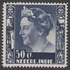 Dutch East Indies 1938 - Queen Wilhelmina type 'Kreisler' - NVPH 260