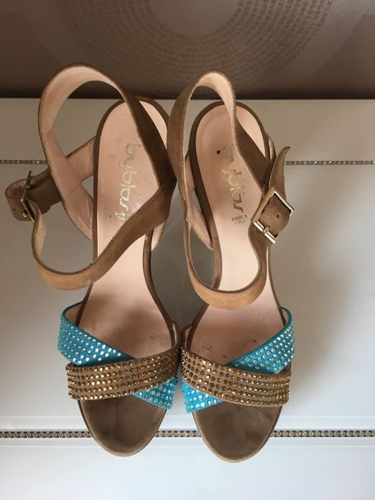 Byblos suede leather sandals