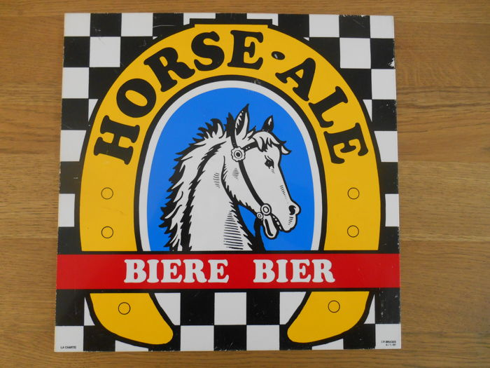 Advertising of Horse- Ale beer from 1981