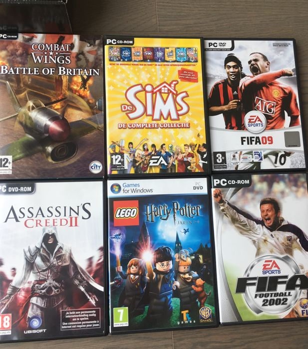 Lot PS1 + PC + WII games (incl Limited Edition Alone in the