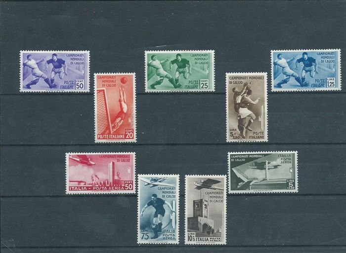 Italy Kingdom 1934 - World Cup, P.O. and P.A - Sassone N. S73