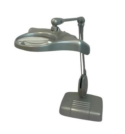 Unknown designer - inspection lamp / desk lamp with magnifying glass