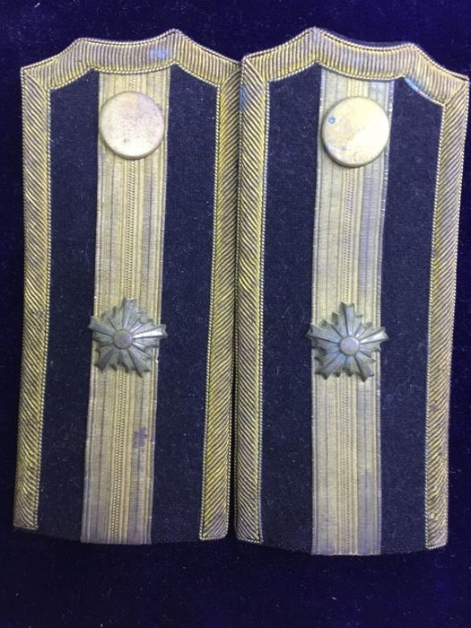 WW2 Japanese Police Shoulder Boards
