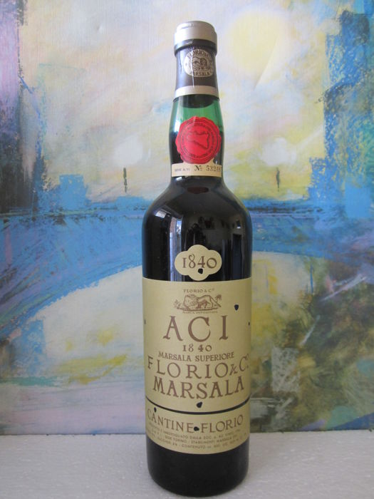 "1840 Solera Marsala Superiore - Florio & Co. ""ACI"" - bottled before 1969 (pre-DOC)"