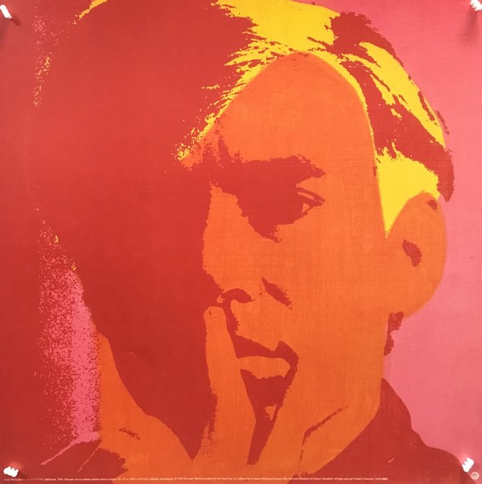 Andy Warhol - Self-Portrait 1966