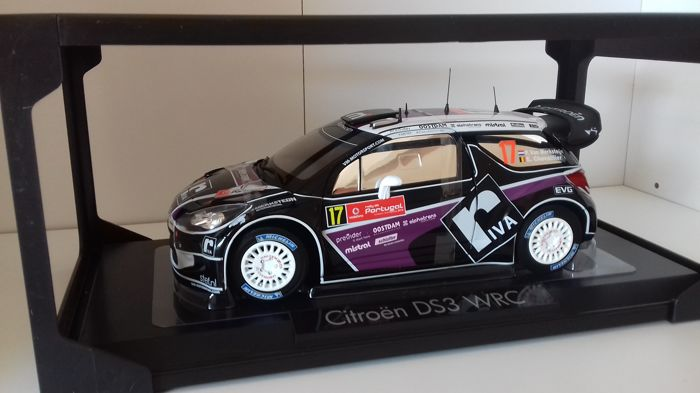 Norev - 1:18 - Citroën DS3 WRC #17  Rally of Portugal 2012 - Van Merksteijn/Chevaillier