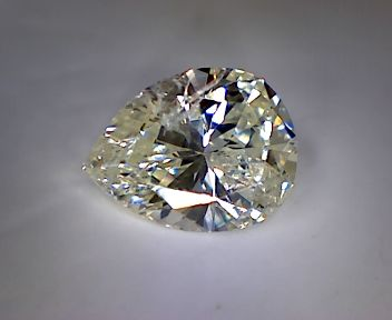 0.58ct Pear-Cut Diamond, Colour: J, Clarity: SI2, No Reserve Price