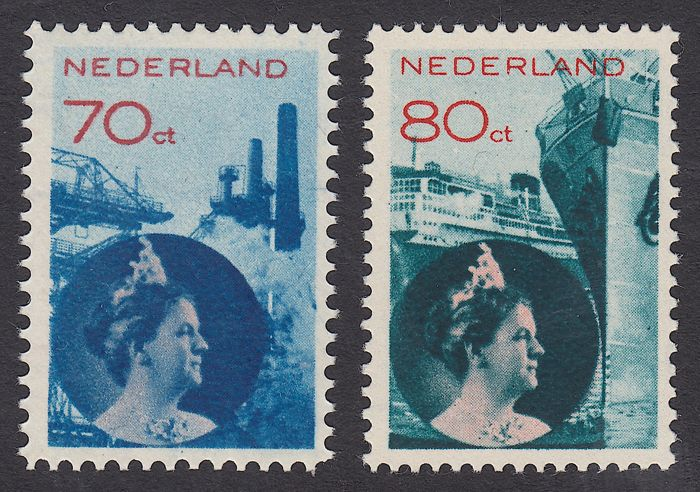 Netherlands 1931 - Industry and Industry - NVPH 236/237