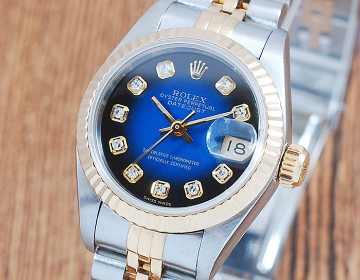 Rolex - Oyster Perpetual DateJust  - 69173 - Dames - 1990-1999
